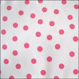 98. Polkadot wit / roze