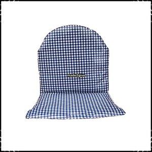 Tiamo Kinderstoel Prenatal.Kussen Voor Prenatal Tiamo Kinderstoel Boerenruit Blauw Spreekwoorden Blauw