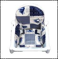 Inlay-voor-Ikea-kinderstoel-spreekwoorden-blauw-ruit-donkerblauw