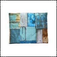 Kussen voor stokke babyset steigerhout blauw
