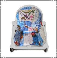 Inlay-voor-Ikea-kinderstoel-Bianca-polkadot-fuchsia