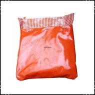 Postopvanger-brievenbuszak-Effen-oranje-Boerenruit-oranje