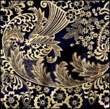 31.Barok zwart - goud