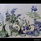 Raamfolie decoratie bloemen