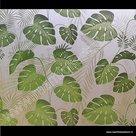 Raamfolie Tropische bladmotieven selva 46cm
