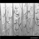 Raamfolie Bamboe stengels verticaal