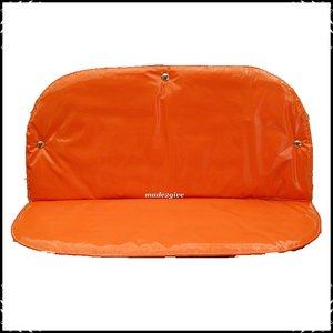 kussenset voor Babboe city Bakfiets Effen oranje