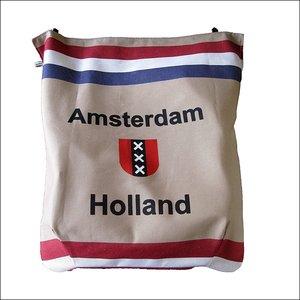 Postopvanger / Brievenbuszak Amsterdam post / ruitje zwart