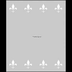 Raamfolie Motief: Barok Duo 60cm
