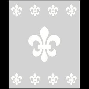 Raamfolie Motief: Barok 3 60cm