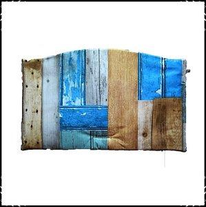 Kussen voor zitplank Stokke Tripp Trapp kinderstoel Steigerhout blauw/ steigerhout