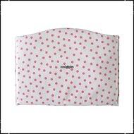 Kussen-voor-voetplank-Stokke-Tripp-Trapp-kinderstoel-polkadot-wit-roze-Boerenruit-babyroze