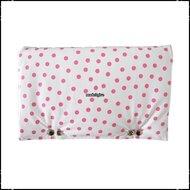 Kussen-voor-rugleuning-Stokke-Tripp-Trapp-kinderstoel-polkadot-wi-t---roze-Boerenruit-babyroze