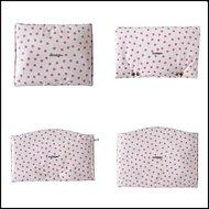 kussenset-voor-Stokke-Tripp-Trapp-kinderstoel-4-delig-polkadot-wit-roze-ruit-roze