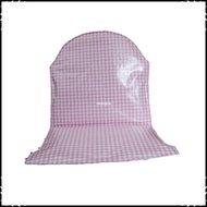 Kussen-voor-Prenatal-Tiamo-kinderstoel-ruit-roze-jet-dessin
