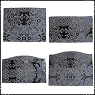 kussenset-voor-Stokke-Tripp-Trapp-kinderstoel-4-delig-barok-zwart-barok-wit