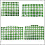 kussenset-voor-Stokke-Tripp-Trapp-kinderstoel-4-delig-ruit-groen-groot-ruit-lichtblauw-groot