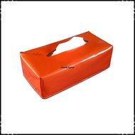 Tissueboxhoes-effen-oranje-zeil