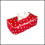 Tissueboxhoes-polkadot-rood