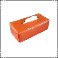 Tissueboxhoes-effen-oranje