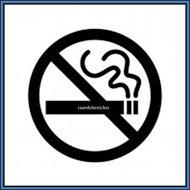 Sticker-Niet-Roken!
