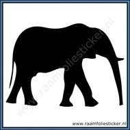 Sticker-Olifant