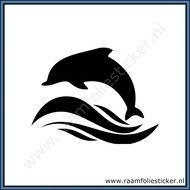 Sticker-Dolfijn