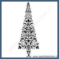 Sticker-Kerstboom-Barok