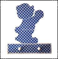 Handdoekenrekje-kapstok-Beertje-lichtblauw