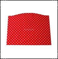 Kussen-voor-voetplank-Stokke-Tripp-Trapp-kinderstoel-Polkadot-rood-Boerenruit-rood