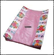 Aankleedkussenhoes-Rosaria-roze-ruitjes-roze