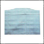 Kussen-voor-voetplank-Stokke-Tripp-Trapp-kinderstoel-Boerenruit-lichtblauw-Fortin-donkerroze
