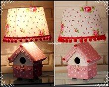 Design-lamp-dots-pink-roses