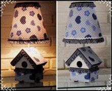 Design-lamp-Blauw