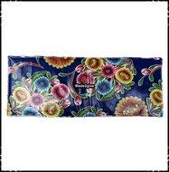 zitplank-kussen-voor-babboe-Floral-donkerblauw