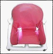 Inlay-voor-Ikea-kinderstoel-Effen-roze-Manolo