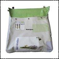 Postopvanger-brievenbuszak-Lavender-boerenruit-lichtgroen