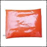 Oranje effen gekleurde babyset voor Stokke