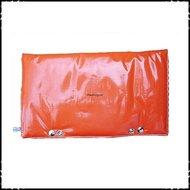 Kussen-voor-rugleuning-Stokke-Tripp-Trapp-kinderstoel-Effen-oranje-ruit-oranje