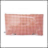 Kussen-voor-rugleuning-Stokke-Tripp-Trapp-kinderstoel-ruit-oranje-effen-oranje