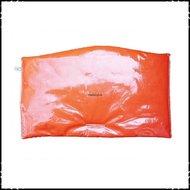 Kussen-voor-zitplank-Stokke-Tripp-Trapp-kinderstoel-Effen-oranje-ruit-oranje